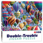 Dubbelsidigt Pussel Double Trouble Balloons 500 b