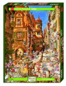 HE29874 Cartoon Michael Ryba Romantic Town By Day