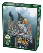 CH80085 Totem Pole In The Mist 1000 Bitar.