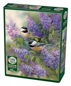 CH80112 Chickadees And Lilacs 1000 Bitar.