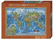 Fine Art Map Amazing World 2000