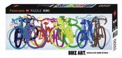 Art Panorama Bike Colourful Row 1000