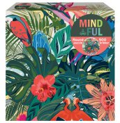 Mindful Flowers and Birds 500 b (Runt Pussel)