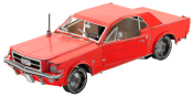 Fordon 1965 Ford Mustang Coupe Red ( 2 delar)
