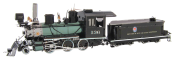 Fordon Wild West 2-6-0 Locomotive (4 delar)