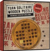 Grandmasters Yuan Solitaire Wooden Puzzle