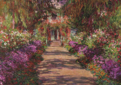 Pussel Konst Monet Giverny 1000