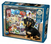 CH85039 Dachshund 'Round The World 500 Bitar.