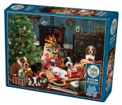 CH85055 Christmas Puppies 500 Bitar.