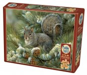 CH88016 Grey Squirrel (275 Stora Bitar)