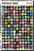 Pussel Originella Motiv Bottle Caps 1000