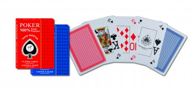Spelkort Poker Plast Texas Hold'em Single Pack