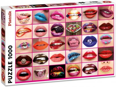 Pussel Originella Motiv Beauty Lips 1000
