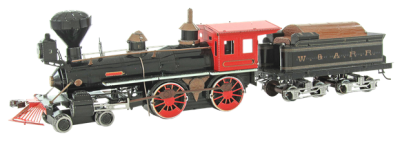 Fordon Wild West 4-4-0 Locomotive (4 delar)