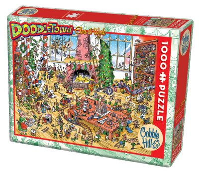 CH53506 Doodle Town: Elves At Work 1000 Bitar.