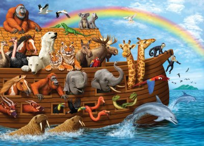 CH58881 Voyage Of The Ark (35b Tray)